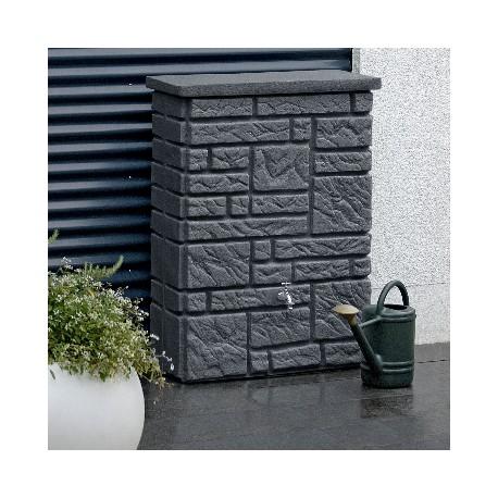 Kunststof Regenton Maurano Donker Graniet 300 Liter