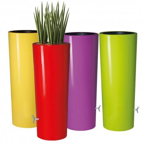 Design Regenton 350Liter met bloembak