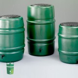 Synthetic rain barrels