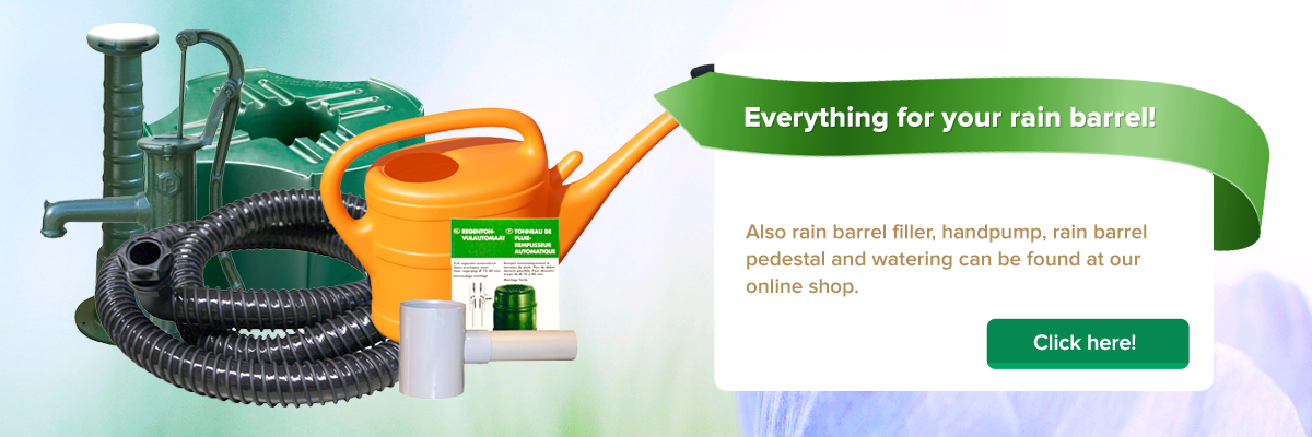 Everything for your Rain Barrel